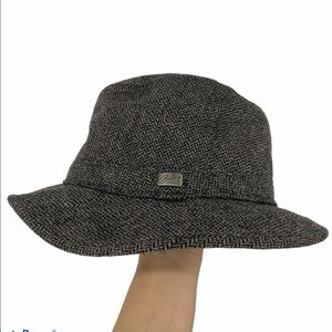 Bailey of Hollywood tweed insulated hat men's L